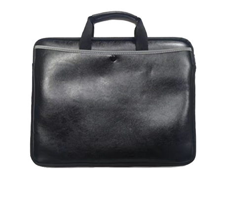 Artificial Leather Laptop Bag - Portable